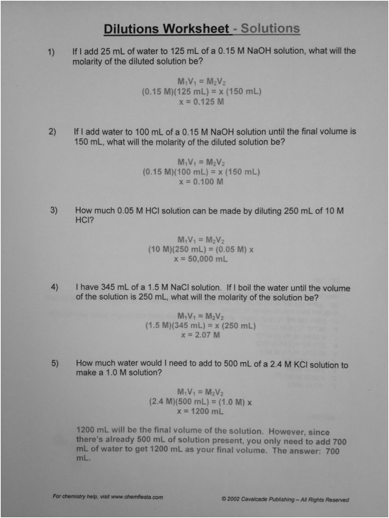 ... Molarity Worksheet Further Time Worksheet Year 7 Further